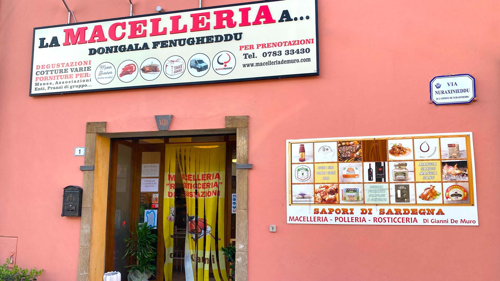 Macelleria da Gianni a Donigala - Oristano
